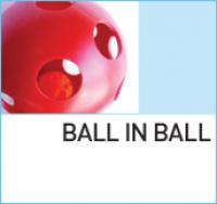 Специальная игрушка мяч в мяче BALL IN BALL