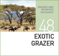 Корм для пастбищных животных EXOTIC GRAZER