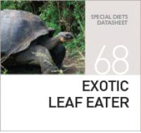 Корм для рептилий и черепах EXOTIC LEAF EATER