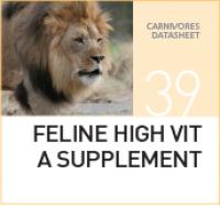 Добавка для кошачьих с высоким содержанием витамина А  Feline High Vit A Supplement