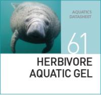 Специализированный гель для травоядных водных видов HERBIVORE AQUATIC GEL