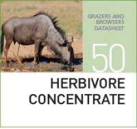 Концентрированный корм для жвачных животных HERBIVORE CONCENTRATE