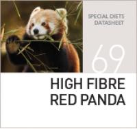 Корм для красных панд HIGH FIBRE RED PANDA