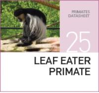 Корм для листоядных приматов Leaf Eater Primate
