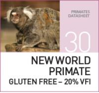 Корм для обезьян из Нового Света New World Primate Gluten Free – 20% VFI