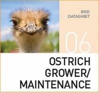Корм для содержания и выращивания страусов Ostrich grower / maintenance