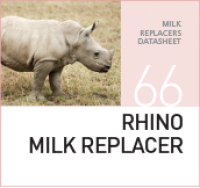 Заменитель молока для молодняка носорогов RHINO