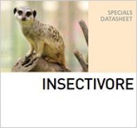 Корм для насекомоядных животных INSECTIVORE