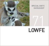 Специализированный корм для железочувствительных животных LOWFE