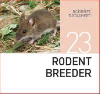 Корм для разведения крыс и мышей Rodent breeder