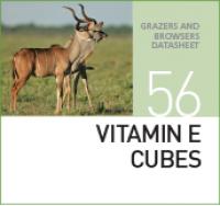 Витамины для жвачных, травоядных животных VITAMIN E CUBES