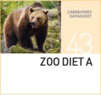Корм для всеядных животных Zoo Diet A