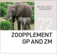 Специализированная добавка для животных ZOOPPLEMENT GP AND ZM